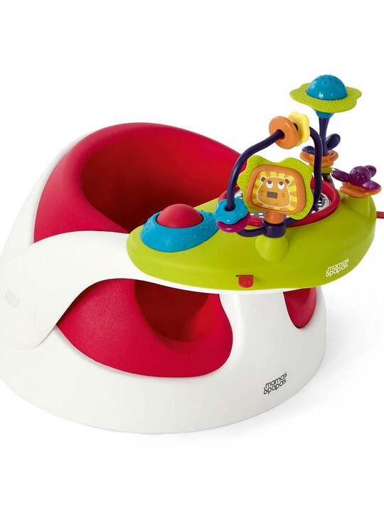 BABY SNUG & ACT TRAY - RED image number 1
