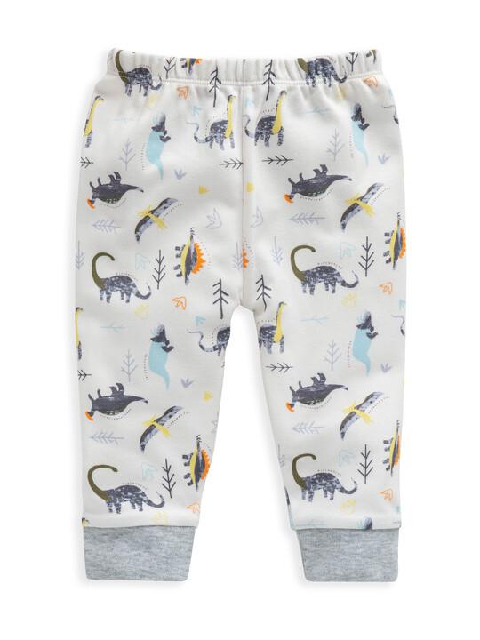 Dinosaur Print Jersey Pyjamas image number 4
