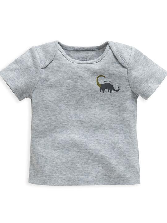 Dinosaur Print Jersey Pyjamas image number 3