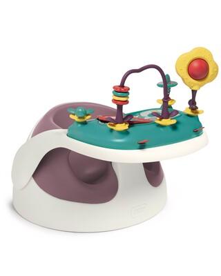 مقعد بيبي سناغ مع صينية لعبة الأنشطة – وردي داكن
