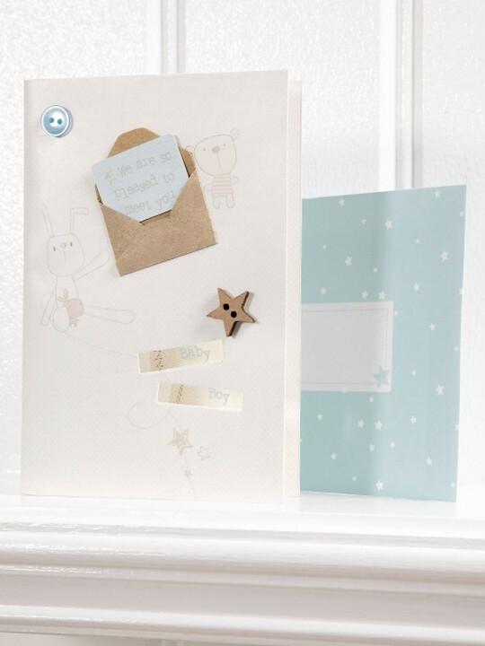 بطاقة تهنئة - من مجموعة Millie & Boris للأولاد image number 1