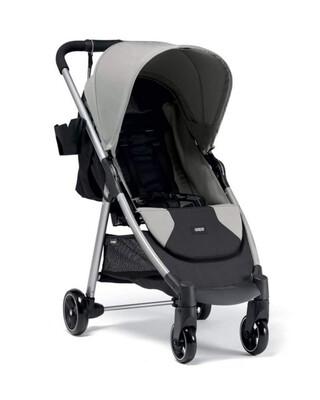 عربة أطفال أرماديللو سيتي2 رفيعة قابلة للطيّ - رمادي فاتح