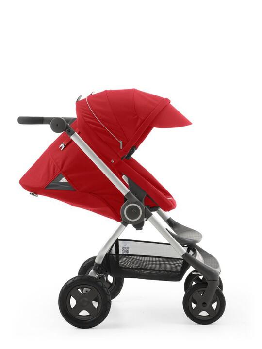 عربة Stokke® Scoot - لون أحمر image number 3