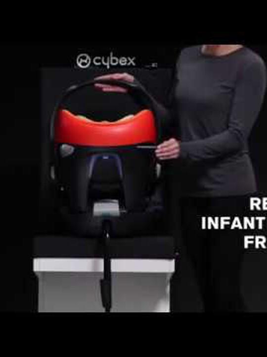 مقعد سيارة CYBEX Aton Q - أسود Black Jack image number 2