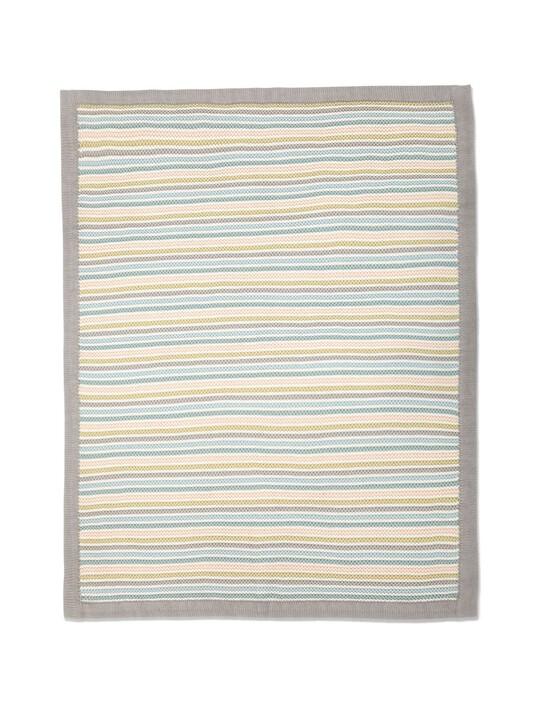 البطانية المعقودة الصغيرة - Stripe Pastel image number 5